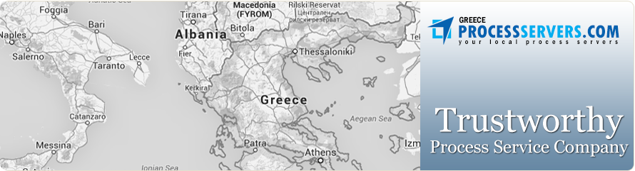 process service in Greece